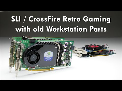 SLI And CrossFire With Old Old Workstation Parts