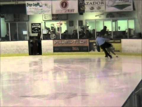 Jilayne Lee & Ryan Yearous Pairs Figure Skating - Holiday on Ice 2013