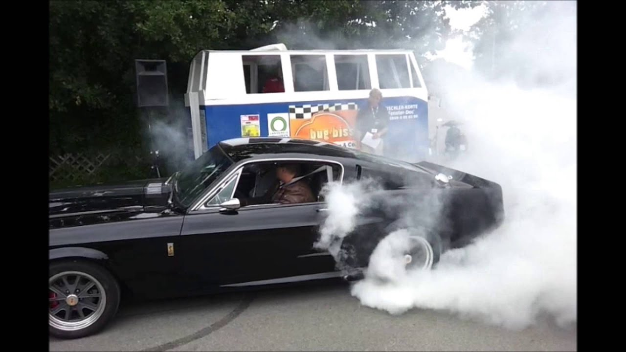 Ford Mustang GT500 Eleanor massive burnout @ Bug Biss - Video 2 ...