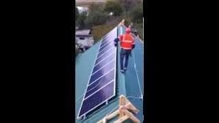 Установка солнечных батарей - UTEM SOLAR(, 2015-09-30T07:35:35.000Z)