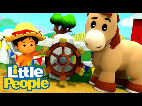 Fisher Price Little People | Just compare yourself to you | 30 Minutes Fun Compilation | Kids Movies