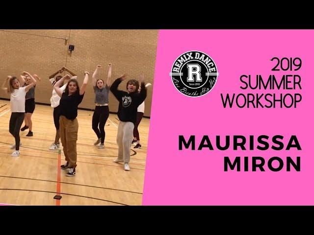 Summer Workshop 2019 - Maurissa Miron