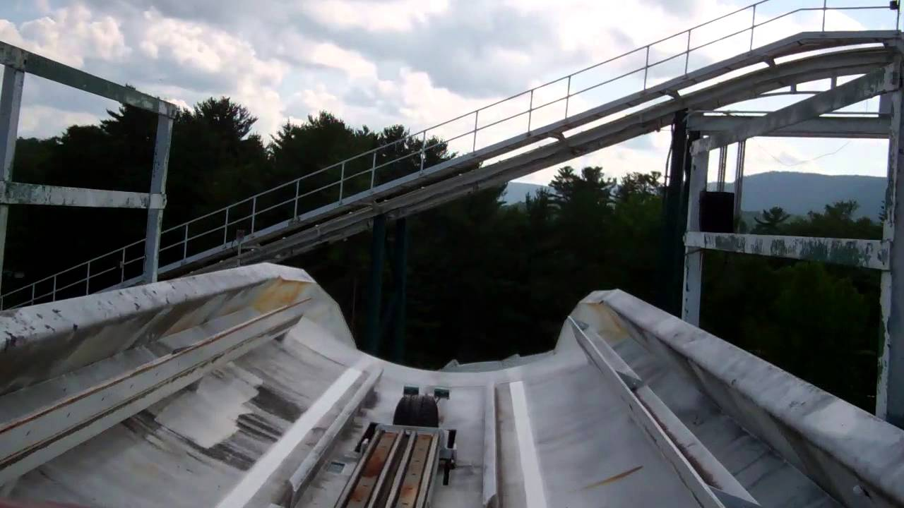 Alpine Bobsled HD POV @ Six Flags Great Escape - YouTube
