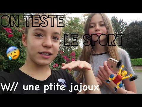 on teste le sport w// jajoux