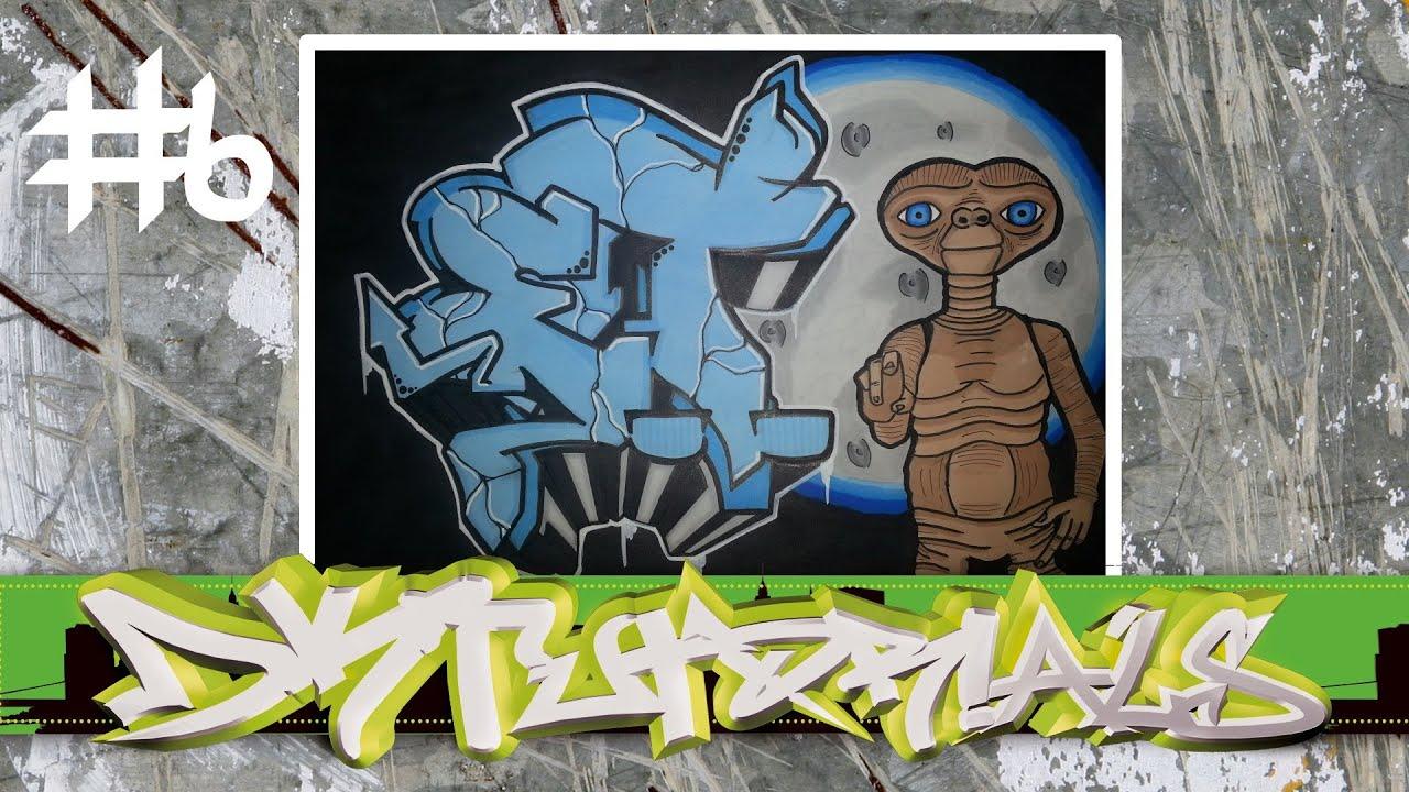 R Graffiti Letters Wildstyle Graffiti Tut...