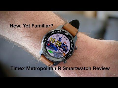 Timex Metropolitan R Smartwatch Review