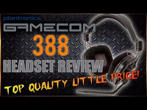 Plantronics Gamescom 388 Gaming Headset Review