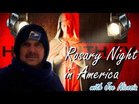 ROSARY NIGHT IN AMERICA with Joe Nicosia - Thu, Mar. 26, 2020