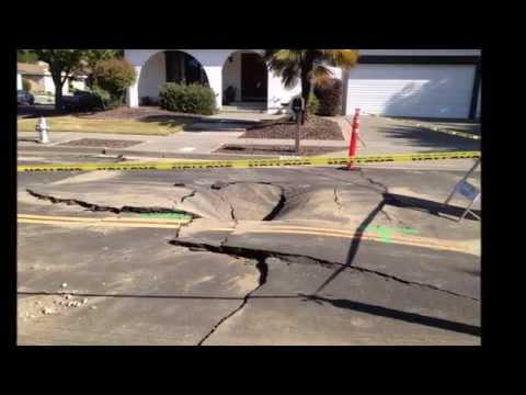 Life In Napa CA - The Napa Earthquake!