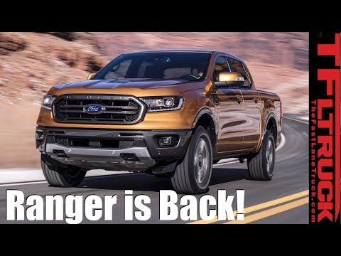 Breaking News: Everything There Is To Know About The 2019 Ford Ranger