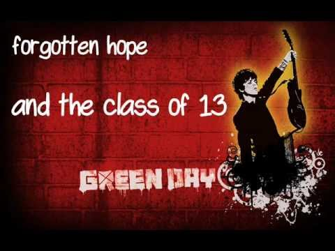 Green Day - American Eulogy [lyrics]