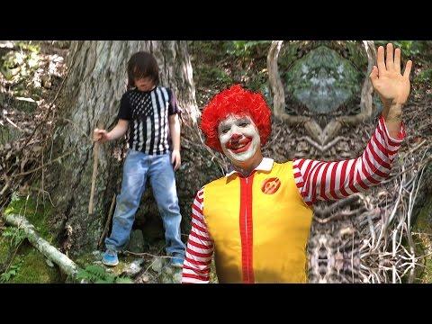 Rowan meets Ronald McDonald