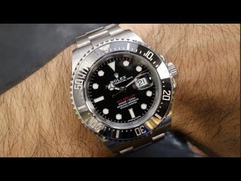 Rolex 50th Anniversary Red Sea Dweller 126600 Review Basel 2017