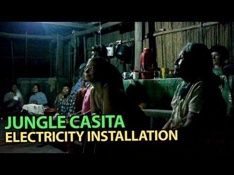 Jungle Casita Electricity Installation