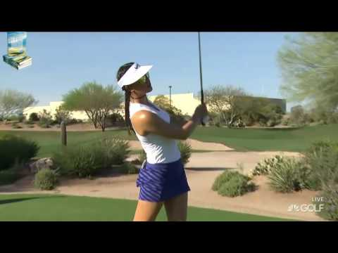 Michelle Wie's Lovely Golf Shots 2017 Bank of Hope Founders LPGA Tournament