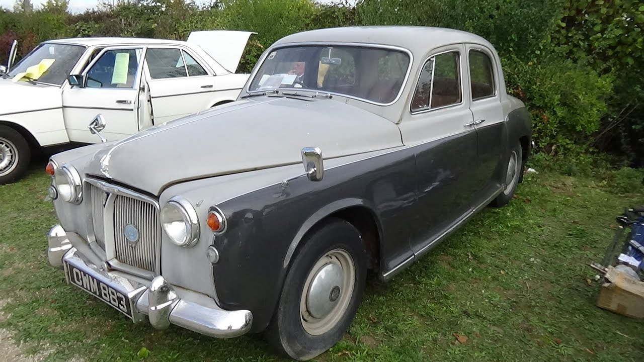 1953 1959 rover p4 veterama mannheim 2015 youtube. Black Bedroom Furniture Sets. Home Design Ideas