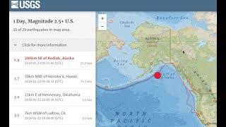 M7.9 Earthquake, Geoengineering, Ultra-Energy Rays | S0 News Jan.23.2018