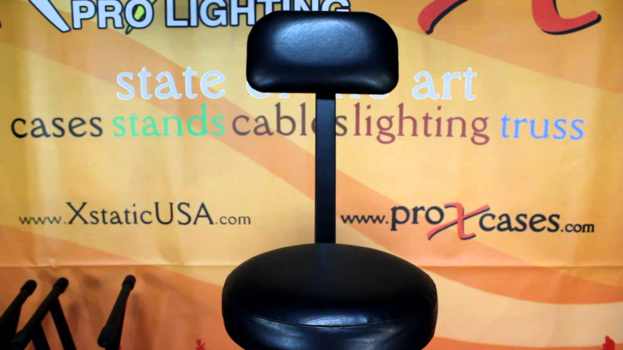 prox t djchair portable dj drummer guitar musician chair stool stand