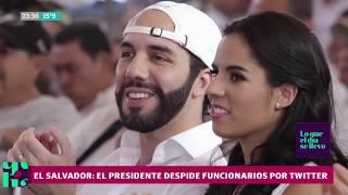 El presidente de El Salvador da órdenes en Twitter y sus funcionarios le responden
