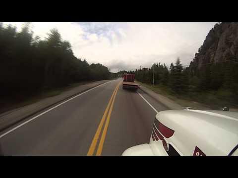 Trucking Thru Northern Quebec, CANADA - Sept 2013