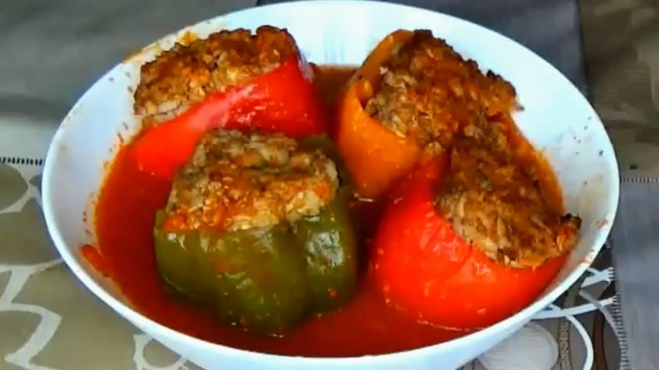 Начинки для фаршированного болгарского перца