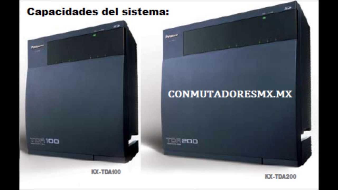 Panasonic Kx-tda Maintenance Console