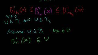 Topology #11 Metric Equivalences Thumbnail