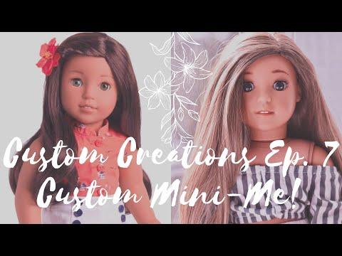 Creating A Custom American Girl Mini-Me Doll!! | Custom Creations Ep. 7