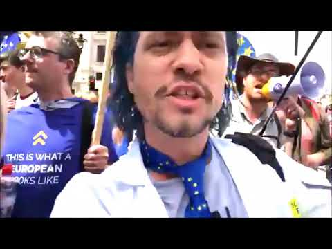 The People's Vote March in London today 23/6/2018