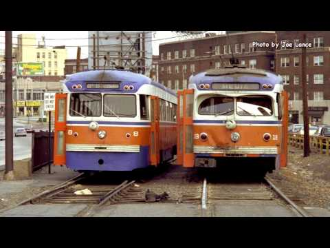 SEPTA RED ARROW and P&W in Orange