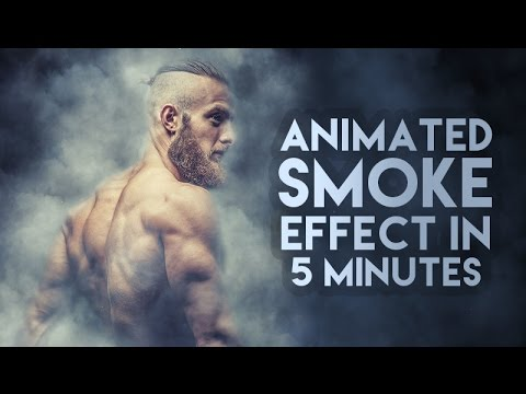 Animated Smoke Effect in Photoshop tutorial