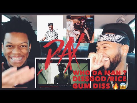 DAX - Who Da Man? (DissGod/ricegum Diss Track) [Official Music Video] | FVO Reaction