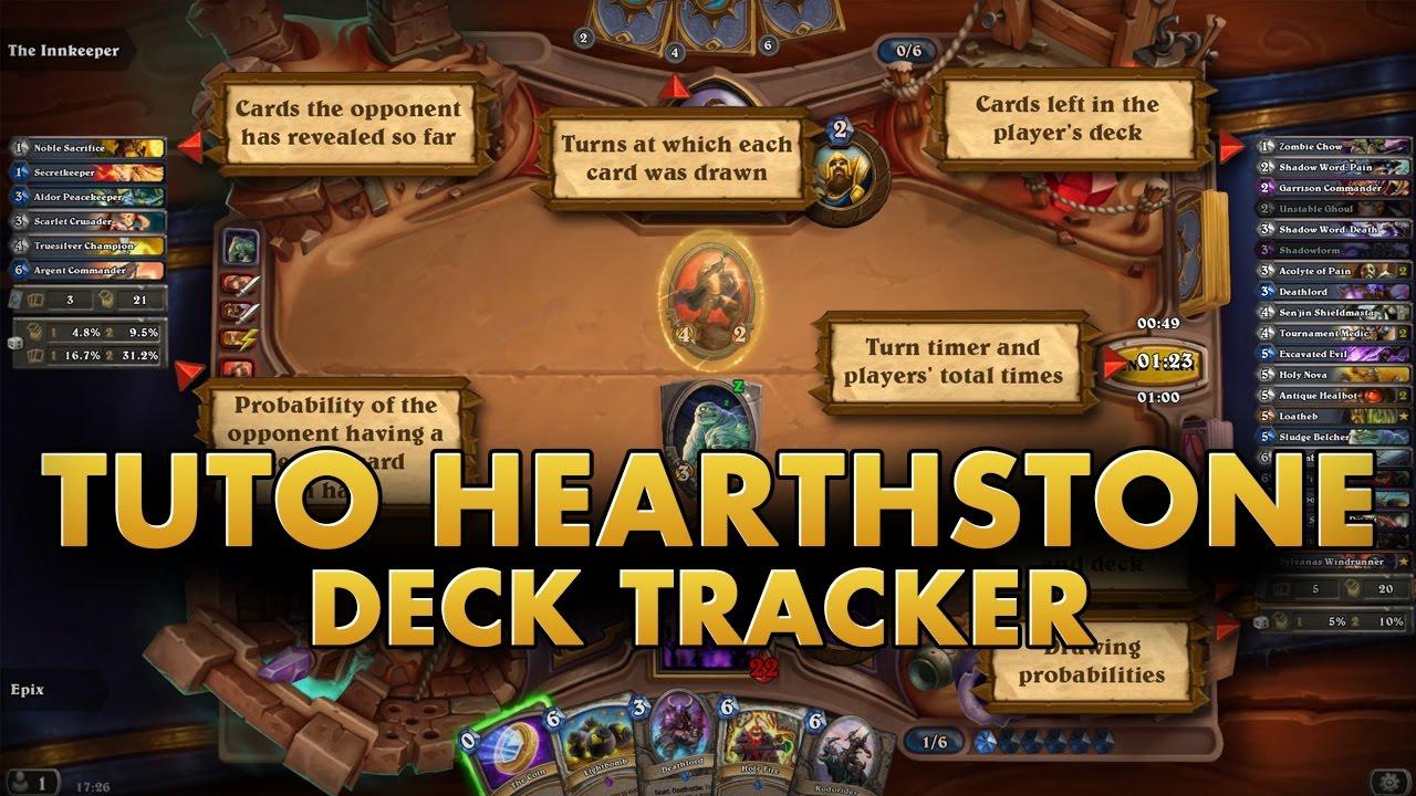 Tuto - Hearthstone deck tracker - YouTube