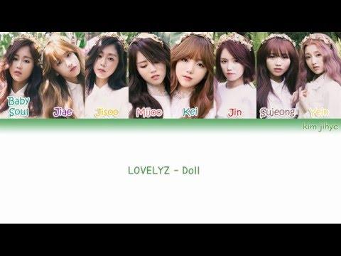 LOVELYZ (러블리즈) – Doll (인형) Lyrics (Han Rom Eng Color Coded)