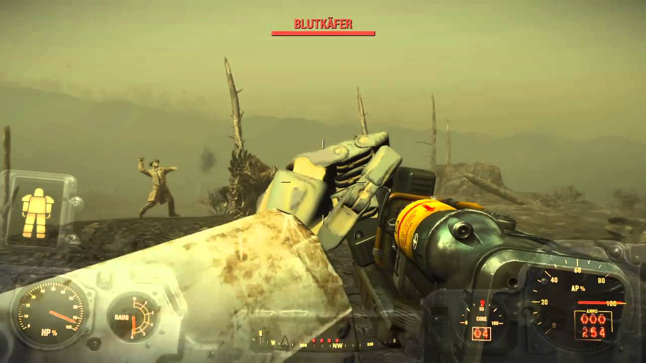 Fallout 4 Lets Play Auf Schwer Deutsch 36 Das Leuchtende Meer