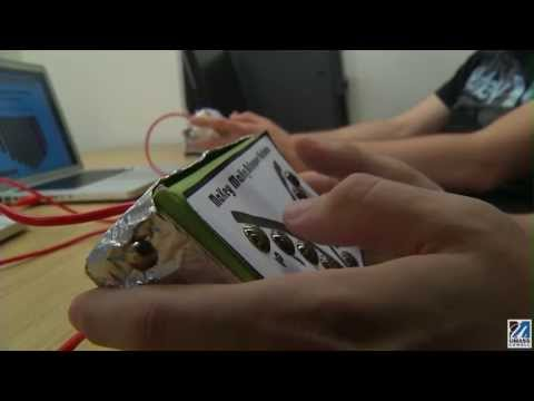 UMass Lowell student project wins NYC music technology competition (2:33)