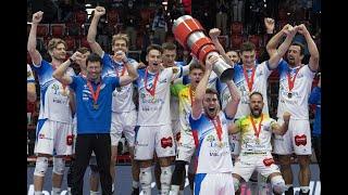 Das Supercup-Finale der Männer zwischen LINDAREN Volley Luzern und Lausanne UC