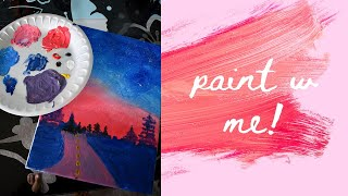 Download paint w me from a youtube tutorial🎨✨