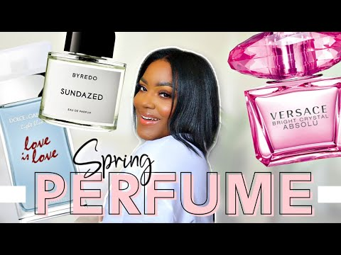 PERFUME COLLECTION 2020 | SPRING + SUMMER FAVORITES!