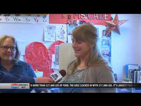 Hyalite Elementary School awarded One Class At A Time check