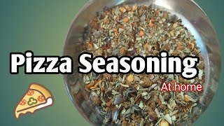 Pizza Seasoning  How to Make Pizza Seasoning at home in Hindi  Pizza pasta Seasoning
