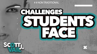 The Challenges Adult Students Face