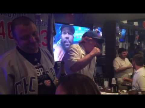 Friendly confines Sports bar, Lake Mary,FL Cubs world series win