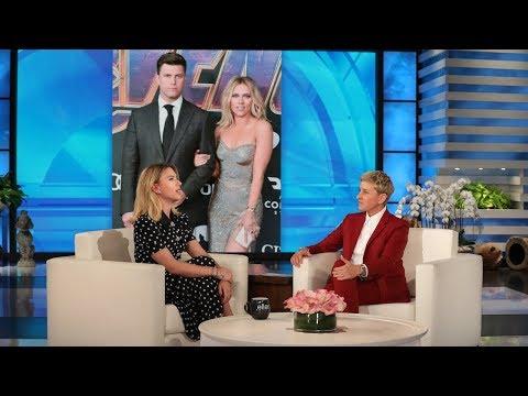 Scarlett Johansson on Colin Jost's Romantic Proposal