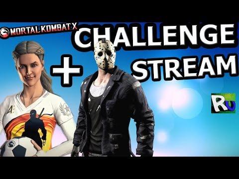 ?[STREAM] ?JASON+SONYA CHALLENGE?Mortal Kombat X mobile(ios) thumbnail
