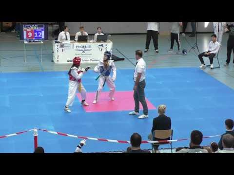 #Taekwondo Internationale Norddeutsche Meisterschaft  #Maedchen  #Vollkontakt  #태권도 #YouTube #video