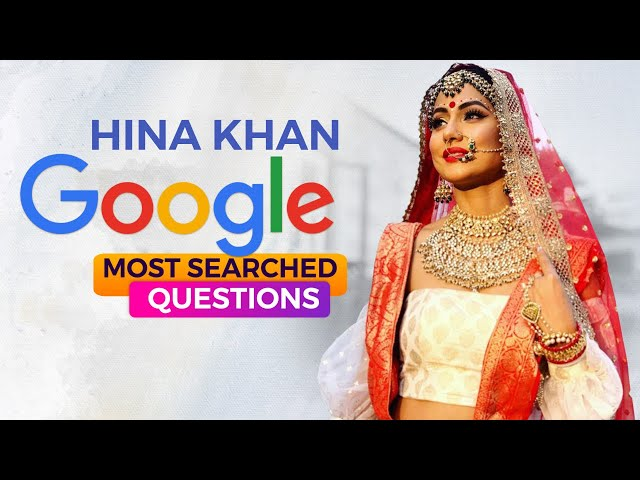 Does Hina Khan have a TWIN? The Hacked actress answers Google's most searched questions