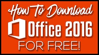 How To Download Microsoft Office 2016 Full Version For Free(Torrent)