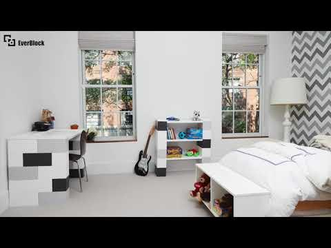 Мечты или реальность: лего-блоки Ever-Block для быстрого возведения зданий