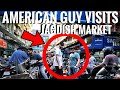 AMERICAN IN JAGDISH MARKET || AMERICAN IN INDIA || AMERICAN IN MOBILE PHONE MARKET || HYDERABAD.